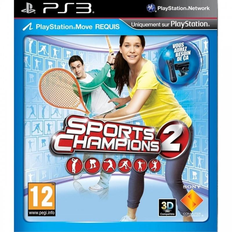 PS3 SPORTS CHAMPIONS 2 - Jeux PS3 au prix de 4,95€