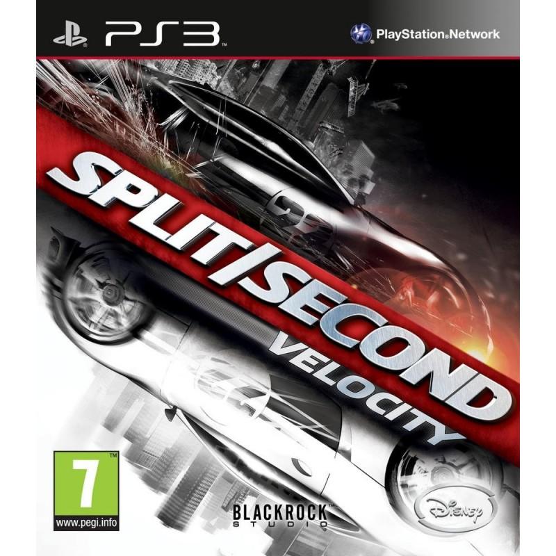 PS3 SPLIT SECOND VELOCITY - Jeux PS3 au prix de 6,95€