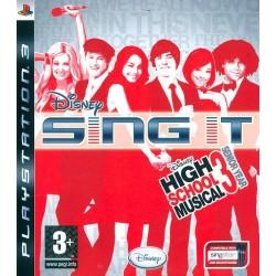 PS3 SING IT HIGH SCHOOL MUSICAL 3 - Jeux PS3 au prix de 2,95€