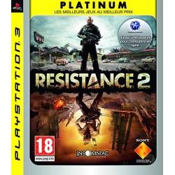 PS3 RESISTANCE 2 (PLATINUM) - Jeux PS3 au prix de 3,95€