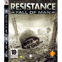 PS3 RESISTANCE FALL OF MAN - Jeux PS3 au prix de 4,95€