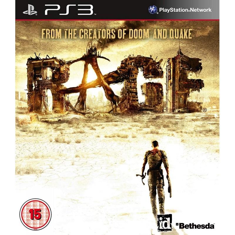 PS3 RAGE - Jeux PS3 au prix de 6,95€