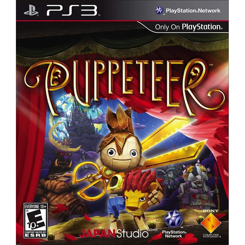 PS3 PUPPETEER - Jeux PS3 au prix de 9,95€