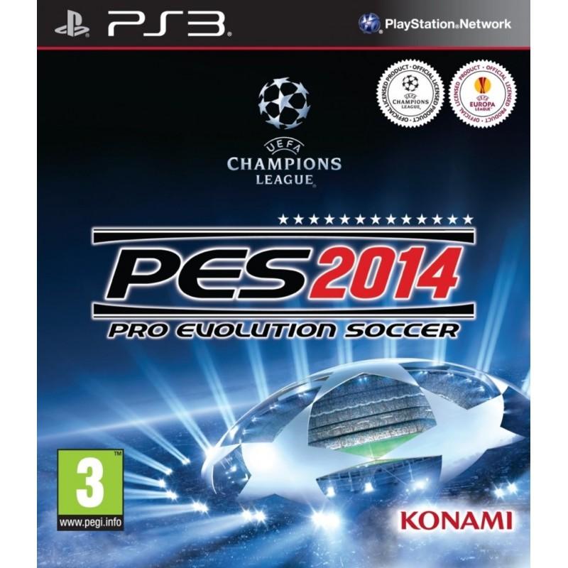 PS3 PES 2014 - Jeux PS3 au prix de 2,95€