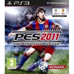 PS3 PES 2011 - Jeux PS3 au prix de 1,95€