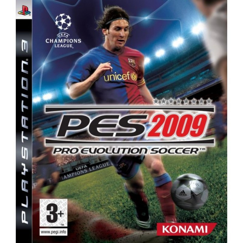 PS3 PES 2009 - Jeux PS3 au prix de 0,95€