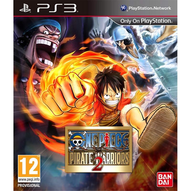 PS3 ONE PIECE PIRATE WARRIORS 2 - Jeux PS3 au prix de 6,95€