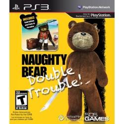 PS3 NAUGHTY BEAR IMPORT USA - Jeux PS3 au prix de 6,95€