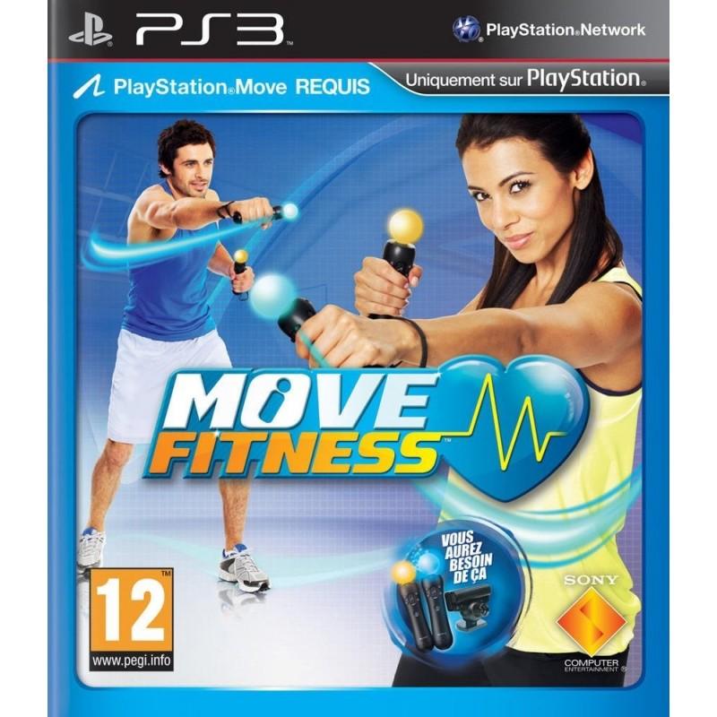PS3 MOVE FITNESS - Jeux PS3 au prix de 8,95€