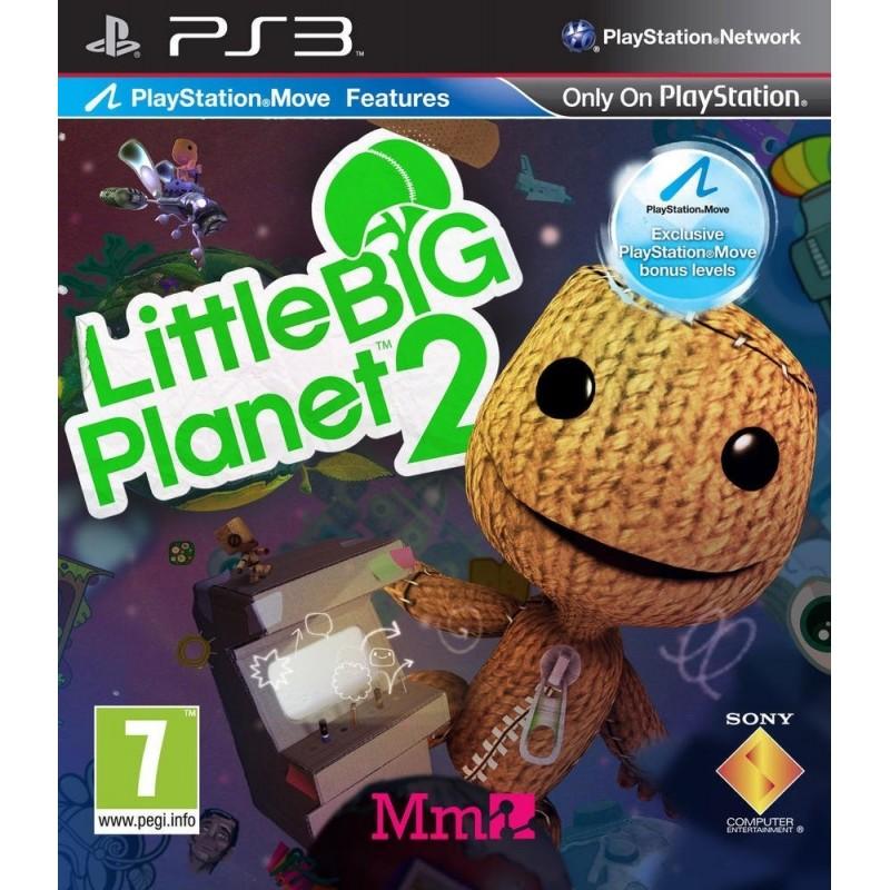 PS3 LITTLE BIG PLANET 2 - Jeux PS3 au prix de 9,95€