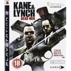 PS3 KANE ET LYNCH DEAD MEN - Jeux PS3 au prix de 5,95€