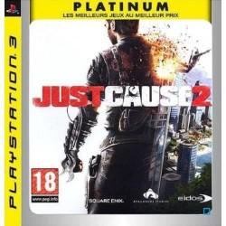 PS3 JUST CAUSE 2 (ESSENTIELS) - Jeux PS3 au prix de 6,95€