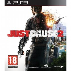 PS3 JUST CAUSE 2 - Jeux PS3 au prix de 6,95€