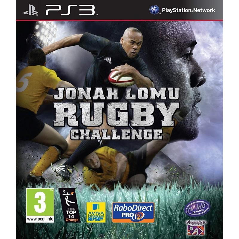PS3 JONAH LOMU RUGBY - Jeux PS3 au prix de 4,95€