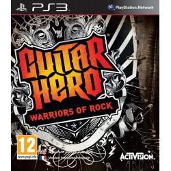 PS3 GUITAR HERO WARRIOR OF ROCK - Jeux PS3 au prix de 7,95€