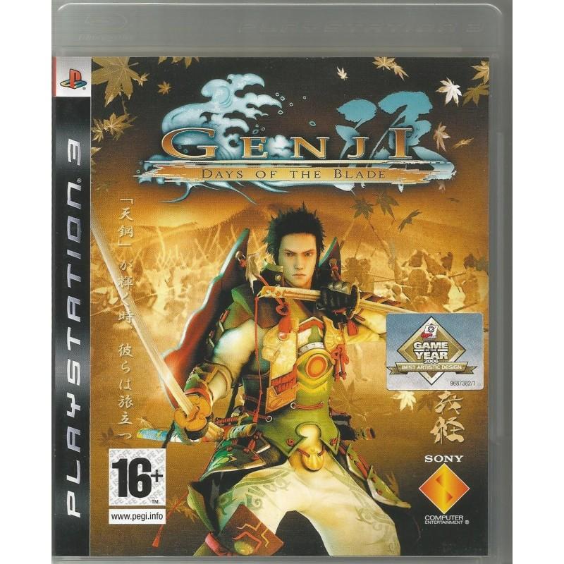 PS3 GENJI DAYS OF THE BLADE - Jeux PS3 au prix de 7,95€