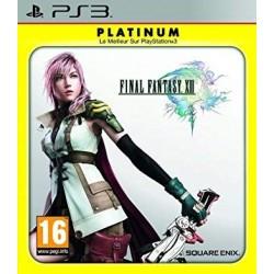 PS3 FINAL FANTASY 13 (PLATINUM) - Jeux PS3 au prix de 6,95€