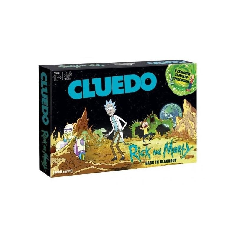 CLUEDO RICK AND MORTY BACK IN BLACKOUT VERSION FR - Jeux de Société au prix de 39,95 €