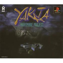 PSX YAKATA NIGHTMARE PROJECT (IMPORT JAP) - Jeux PS1 au prix de 9,95€